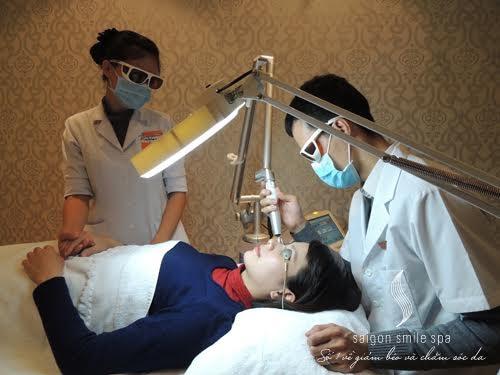 Chữa nám da sau sinh bằng laser