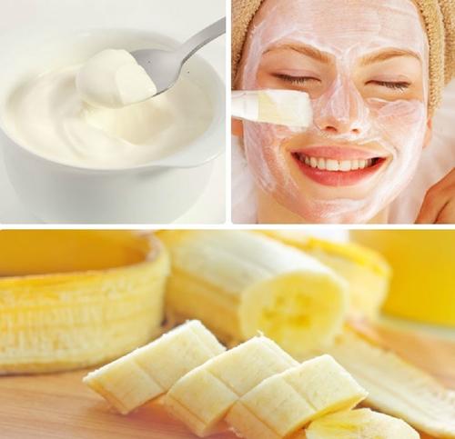 cách chữa nám da bằng chuối và sữa chua