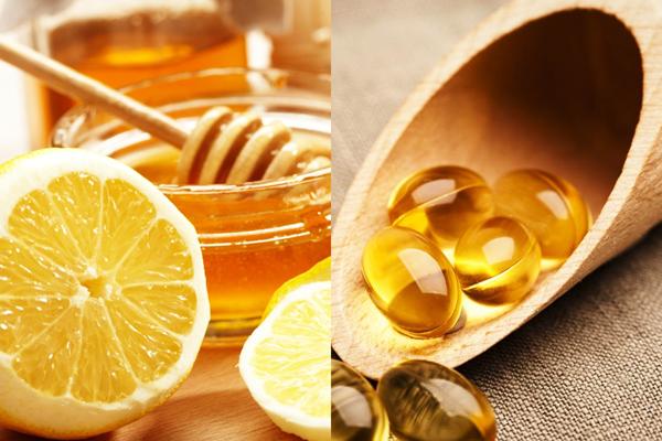 Cách trị nám tàn nhang tại nhà bằng chanh mật ong và vitamin e